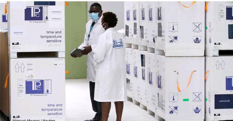 WHO and UNICEF Vaccine Deliveries